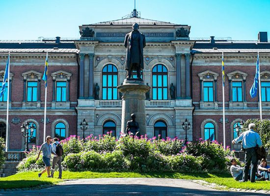 An old building of Uppsala University