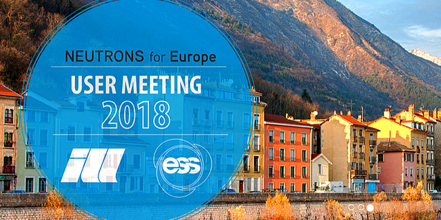 ESS and ILL User Meeting 2018