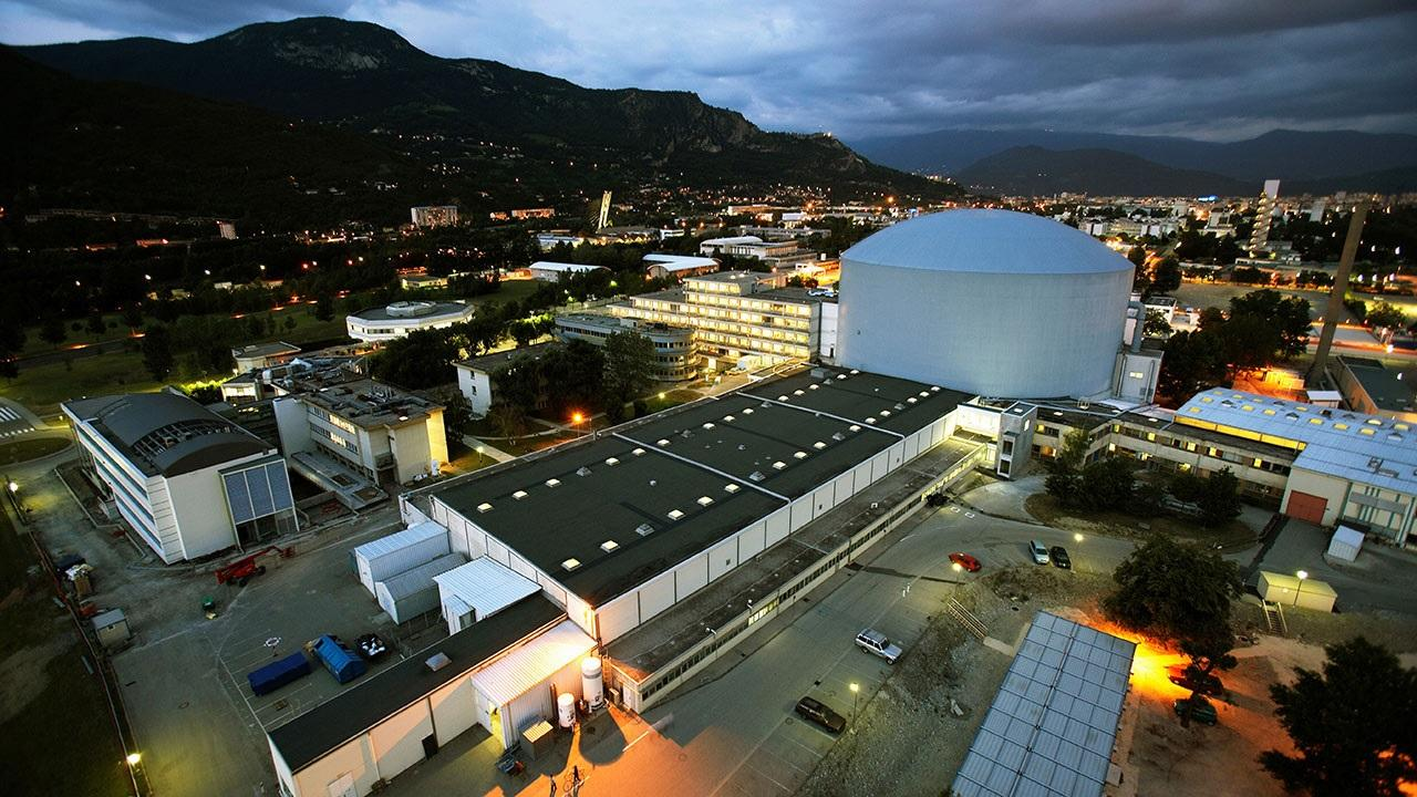 The Institut Laue-Langevin in Grenoble, France